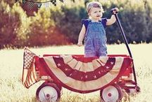 Holiday - Patriotic - 4th of July, Memorial Day, Labor Day, Veteran's Day / Ideas for the Patriotic times in our lives