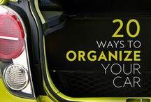 Organization - Car / Car Organization Ideas