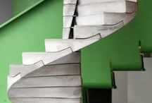 That one Led Zeppelin song / Stairs and steps. / by Raina Cox