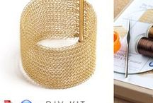 Jewelry Making kits / jewelry making DIY by Yoola, discover a whole new world  Wire crochet tutorials DIY kits and patterns