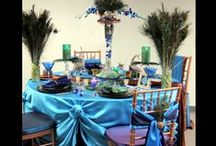 Client Inspiration - Carol's 50th Birthday Celebration / This Pinterest Board was created for Carol's 50th Milestone Birthday Celebration  Peacock   Wedding   Celebration   Party   DIY   Elegant   Chic   Peacock Feathers   Turquoise   Green   Purple   Fuschia   Digital   Design   Custom   Personalized