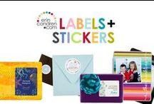 labels + stickers / simplify, stylize & personalize with our unique stickers! we have something for everyone: planner stickers, gift labels, return address labels, mailing labels, book plates, and more! / by erin condren
