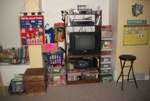 Preschool set up, organization, & decorating ideas
