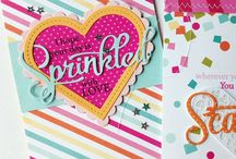 Make It Market: Shakers + Sprinkles Kit / This board is filled with images that helped inspire the contents of the Make It Market: Shakers + Sprinkles kit from PapertreyInk.com as well as projects using the kit contents