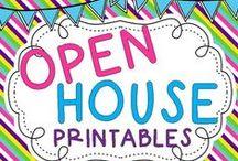 Preschool Open House / Ideas for Open House