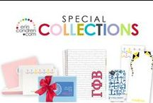 special collections / wedding planners, sorority must-haves, men's essentials & cancer awareness products! / by erin condren
