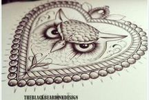 Owl Tattoo / Owl tattoo ideas