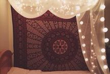 College Dorm Boho and Tips / college, dorm, college tips, education tips, money tips, boho decor,  / by Kristi Reynolds