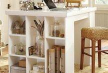 Craft Room / Craft Room Decor, Craft Room Ideas, Craft Room Inspiration