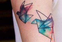 Aquarelle tattoo