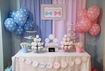 Client Inspiration - K.T. Gender Reveal Party Ideas / This Pinterest Board was created for K.T. as inspiration for her Gender Reveal Baby Shower/Celebration