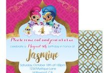 """Children Birthday Party Invitation Designs / Invitations are your party guests first impression of your party and what's in store for them. So, why not get your party guests excited about your little one(s) celebration and """"WOW"""" the socks off of them with one of these adorable digital Invitation designs.  Invite   Announcement   Birthday   Party   Baby   Shower   Sweet 16   Sweet Sixteen   Quinceanera   Princess   Rockstar   Superhero   Spa   Thank You Note   Card  Buy Invitations here: http://goo.gl/6PeqAK"""