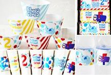 Children Digital Birthday Party In A  Box Designs / Eccentric Designs by: Latisha Horton digital Birthday Party themes are sure to bring a smile to your little one(s) face. These full color/high-resolution digital parties have you covered from A to Z! Items available for this theme include: Invitation   Thank You Note   Cupcake Wrappers   Cupcake Toppers   Placecards   Popcorn Box/Snack Box   Favor Bag Stickers/Labels   Water Bottle Labels   Hershey Bar Wrappers For Additional Inquiries: eccentricdesignstudio@live.com