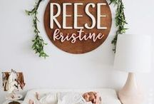 Nursery Decor / This board is dedicated to beautiful nursery decor. You will find classic decor ideas and adorable nursery themes for both girls and boys.