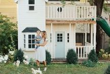 Playhouse Ideas / This board is dedicated to playhouse ideas, including outdoor playhouse ideas, indoor playhouse ideas, playhouse DIY and playhouse makeovers.