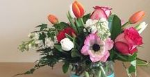 From the Design Table / Flower arrangements we have created!