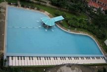Crazy cool pools!