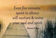Meditation / Mind Spirit Energy Affirmations, Chakras, meditation tips etc / by Bonnie Fischer