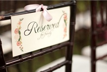 .wedding planner. / collection of fantastic wedding ideas. wedded bliss.  / by victoria hend