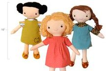 Waldorf and Handmade Dolls and Creatures / Little bits of love to sew up to be loved.