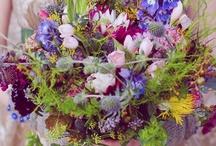 Seasonal Autumn Flowers / Inspiration for seasonal autumn/fall wedding flowers - September, October and November