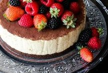 CHEESECAKE Recipes / Cheesecake of all flavors and shapes... Just for you!