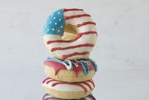 Holiday: Independence Day! / Recipes for a festive and patriotic Independence Day...  #independenceday