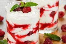 Puddings, Jellos, Trifles & Custards / Puddings, Jellos, Trifles, and Custards... all so creamy-licious, don't you think?  #pudding #jello #trifle #custard