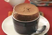 SOUFFLES / Souffles are light, puffy, and quite tasty... Don't you think? They also make a meal more elegant!