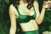 St. Patty's Day Food & Lingerie / Recipes and ideas to celebrate St. Patricks Day: shamrocks, pot-of-gold at the end of the rainbow, Irish cream treats, healthy green foods and drinks, and lingerie.