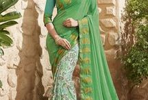 Buy Printed Sarees at G3 Fashion / Buy online party wear Printed Sarees at G3fashion.  all tipes of prints like prints like polka, stripes, black n white, block prints, abstract, flora and fauna, the new masaba prints sarees with low price available at  and buy at G3fashion.com website.