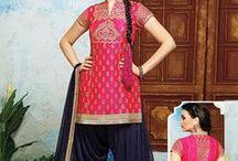 Buy Punjabi Patiala salwar kameez / Buy online exclusive Designer punjabi salwar akmeez, Best price, Global shipping.Low price, Huge collection, Select design on pinterest and buy at G3fashion.com website