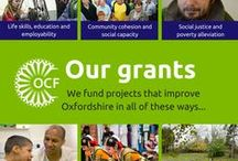 Groups we've helped / Pins from community groups and charities that have benefited from an OCF grant