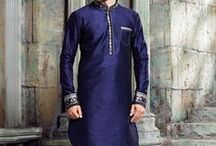 Buy Men's Kurta Suits online at G3 Fashion / Find out the latest kurta suit collectin for festive wear, ceremony wear for Indian look.