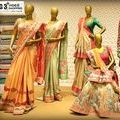 Bridal Sarees at G3 Fashion / Check out latest designer bridal wear sarees at g3fashion.com. Saree in hues of colours and different embroidery for brides.