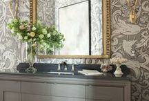 Interiors: Powder Rooms / Elegant Powder Rooms