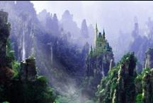 Matte paintings / A collection of my favourite matte paintings