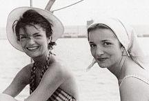 ◇ Jackie Kennedy and Lee Radziwill ◇