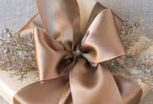 Gift wrapping / by Karen Peterson