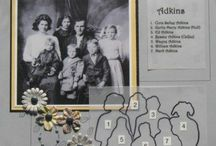 Family Tree / Researching and scrapbook tips