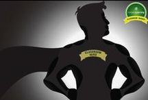Classroom Heroes  / The Compass Learning Classroom Heroes program recognizes and showcases exceptional educators who are applying Compass Learning software in the classroom to personalize learning and empower students to achieve.   Visit heroes.compasslearning.com for more info. / by CompassLearning