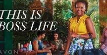 Empowerment / Avon is the company that stands for beauty, innovation, optimism and above all for women.