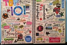 """Art Journaling~Planners~Smash Books~Agendas~Project Life~Binders / Disclaimer: These are just """"PINS"""". I don't claim copyright or ownership of any content on this board. / by Shannon Owings"""