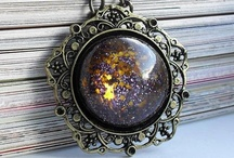 Accessorize / Jewelry!!  I'd like to make most of these pieces.  Some nifty ideas to store pretties in also. / by Tayia Perkins