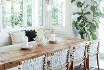 salle à manger - dining rooms + nooks