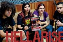 We are HellArise! / The band! / by HellArise