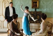 Downton Abbey / It's 1912, and life in the Edwardian country house of Downton Abbey is idyllic and bustling for the Crawley family, aided by their cadre of servants. Follow the intrigue and join us in the adventure of one of our favorite dramas.