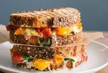 Stand-out Sandwiches / step outside your comfort zone with these delicious variations to your usual peanut butter and jelly. Lots of #healthy and fun sandwiches to try