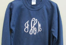 monogrammers anonymous / by Stephanie Bolster