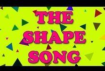 Ed/songs/shape  / by Toni Martin